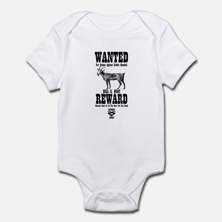 Wanted - The Goat Infant Bodysuit