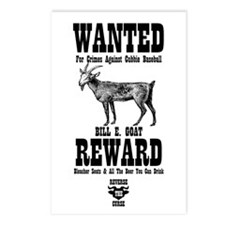 Wanted - The Goat Postcards (Package of 8)