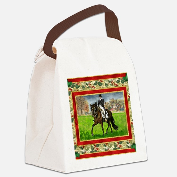 Alter Real Horse Christmas Canvas Lunch Bag