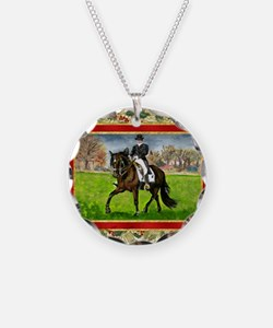 Alter Real Horse Christmas Necklace