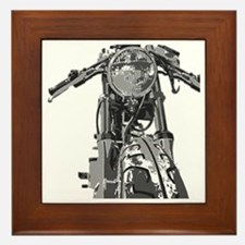 Bonnie Motorcycle Framed Tile