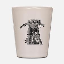 Bonnie Motorcycle Shot Glass