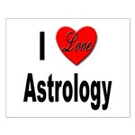I Love Astrology Small Poster