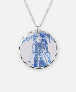 Cafe Racer Motorcycle Necklace