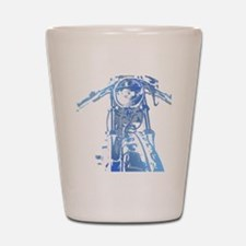 Cafe Racer Motorcycle Shot Glass