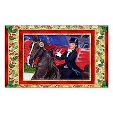 American Saddlebred Horse Chri Bumper Stickers