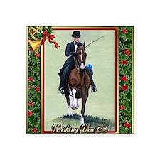 "American Saddlebred Horse C Square Sticker 3"" x 3"""