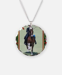 American Saddlebred Horse Ch Necklace