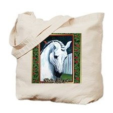 Andalusian Horse Christmas Tote Bag
