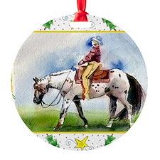 Appaloosa Horse Christmas Ornament