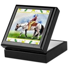 Appaloosa Horse Christmas Keepsake Box