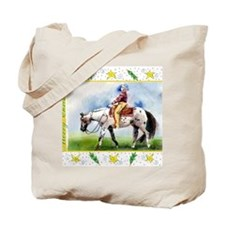 Appaloosa Horse Christmas Tote Bag
