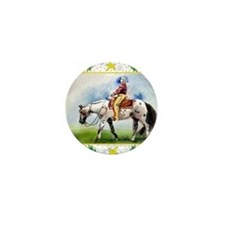 Appaloosa Horse Christmas Mini Button