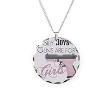 Guns are for Girls Necklace