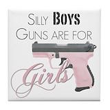 Handgun Drink Coasters