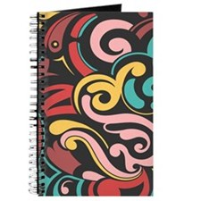 Funky Abstract Journal