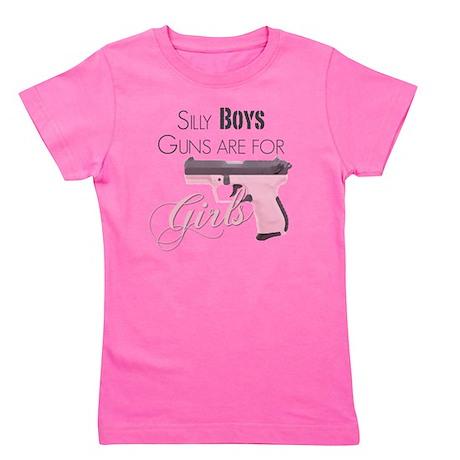 Guns are for Girls Girl's Tee