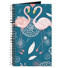 Cute Flamingos Journal