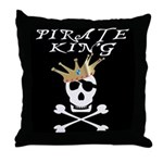 Pirate King Throw Pillow