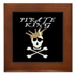 Pirate King Framed Tile