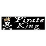 Pirate King Bumper Sticker