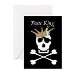 Pirate King Greeting Cards (Pk of 10)