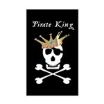 Pirate King Rectangle Sticker