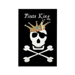 Pirate King Rectangle Magnet