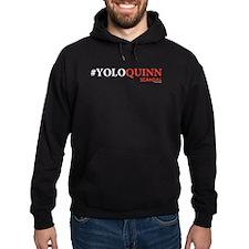 #YOLOQUINN Hoodie (dark)