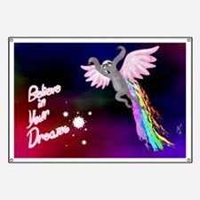 Believe In Your Dreams Sloth Banner