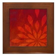 Flame Framed Tile