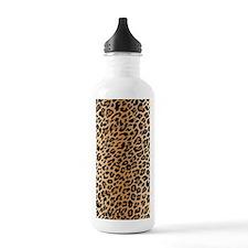 Leopard Print Water Bottle