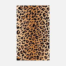 Leopard Print Sticker (Rectangle)