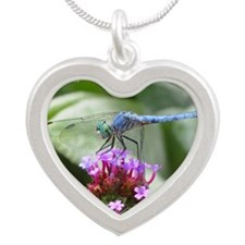 dragon-11 Silver Heart Necklace