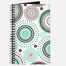 Turquoise Circles Journal