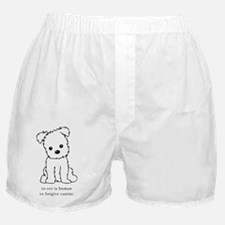 To Err is Human To Forgive Canine Boxer Shorts