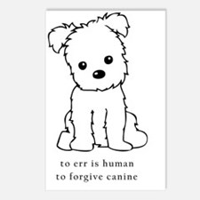 To Err is Human To Forgiv Postcards (Package of 8)