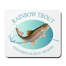 Rainbow Trout Mousepad