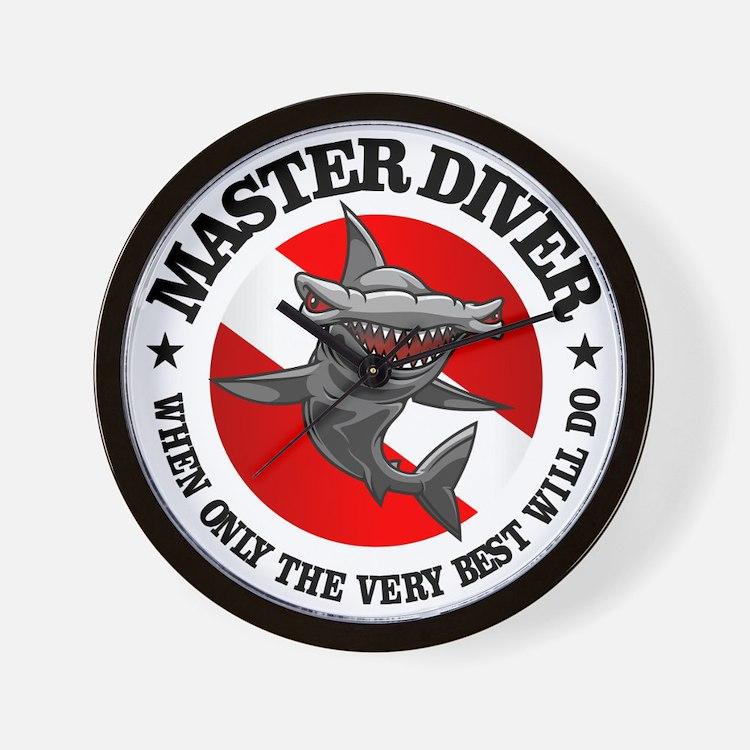 Master Diver (Hammerhead) Wall Clock