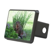Groundhog in garden Hitch Cover