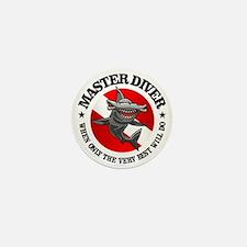 Master Diver (Hammerhead) Mini Button