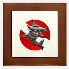 Master Diver (Hammerhead) Framed Tile
