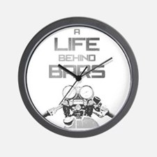 A Life Behind Bars Wall Clock