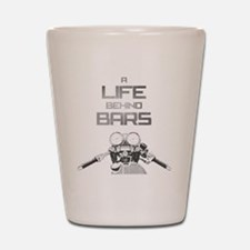 A Life Behind Bars Shot Glass