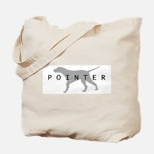 Pointer Dog Breed Tote Bag