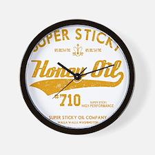 Super Sticky Honey Oil Wall Clock