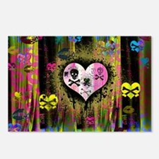 Punk Curtain Postcards (Package of 8)