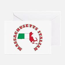 Massachusetts Italian Greeting Cards (Pk of 10