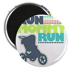 Run Mommy Run - Stroller Magnet