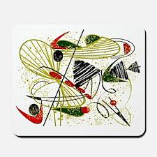 atomic funky rug Mousepad